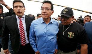Félix Moreno: dentro de 48 horas el PJ resolverá pedido de prisión preventiva