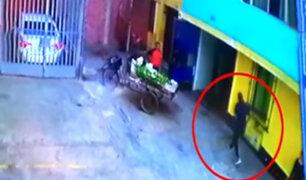 SJM: Policía capturó a veloz ladrón apodado como 'Flash'