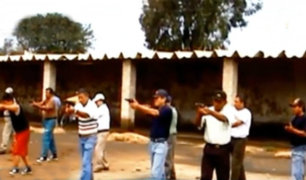 Caso Oviedo: azucarera Tumán era usada como campo de entrenamiento en el uso de armas
