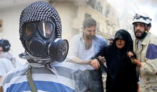 Siria: ataque químico afecta a más de cien personas en Alepo