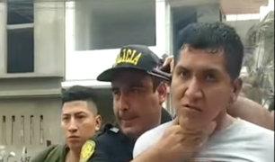 SJL: detienen a ladrón que disparó a policía durante persecución
