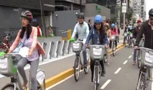 San Isidro: implementan moderno servicio de bicicletas públicas