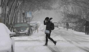 Italia: tormenta de nieve afectó el norte y sur del país