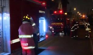 San Luis: incendio se desató en laboratorio de medicinas