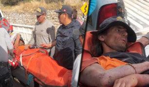 Arequipa: rescatan a turista francés desaparecido en el Valle del Colca