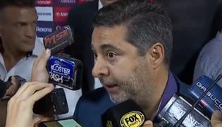 Presidente de Boca Junior arremete contra la final de la Copa Libertadores