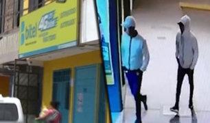 Villa El Salvador: delincuentes armados asaltan tienda de celulares