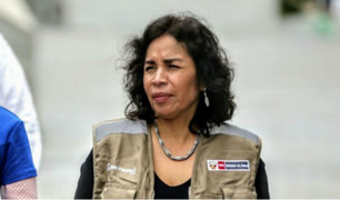 Patricia Balbuena descartó renunciar al Ministerio de Cultura