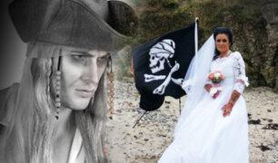 """Irlanda: mujer se casa con el """"fantasma"""" de un pirata muerto hace 300 años"""