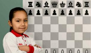 Niña peruana de 6 años se consagró subcampeona panamericana de ajedrez
