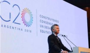 Argentina: inquietud por seguridad en la cumbre del G-20