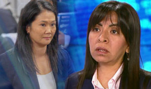 """Abogada de Keiko Fujimori: """"Tenemos muchas esperanzas en la apelación"""""""