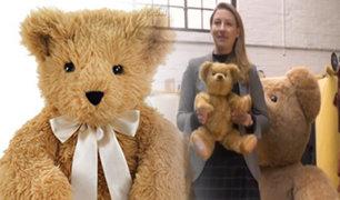 """Reino Unido: conozca la fábrica donde elaboran al """"Osito Teddy"""" desde 1930"""
