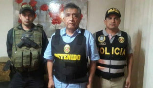 Chiclayo: detienen a alcalde por presuntos delitos de corrupción y crimen organizado