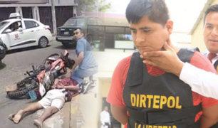 """Trujillo: a balazos capturan a dos """"marcas"""" tras intensa persecución"""