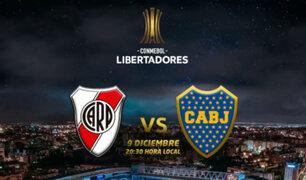 River vs Boca: Final de la Libertadores será en España, confirma Conmebol