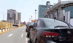 Aeropuerto Jorge Chávez: empresas de taxi tendrán que salir de vía libre para pasajeros