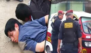 Ate: embarazada es arrastrada por delincuentes que le robaron S/ 7 mil soles