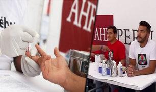 Se realiza campaña gratuita de despistaje de VIH en la Esquina de la Televisión