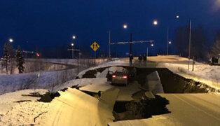 Terremoto de magnitud 7 sacude Alaska y provoca serios daños materiales
