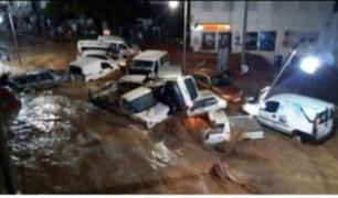 Turquía: registran severas inundaciones en Bodrum