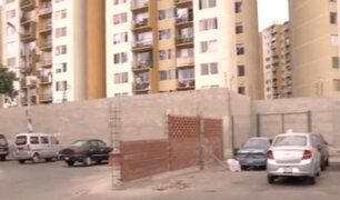 Cercado de Lima: construcción de muro genera conflictos entre vecinos