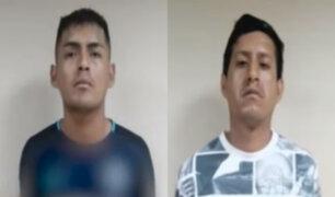 Comas: liberan a sujetos que habrían robado a varios vecinos de Santa Luzmila
