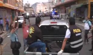 Centro de Lima: soldador murió durante incendio de galería