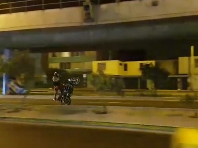Callao: vecinos denuncian peligrosas maniobras de motociclistas extranjeros
