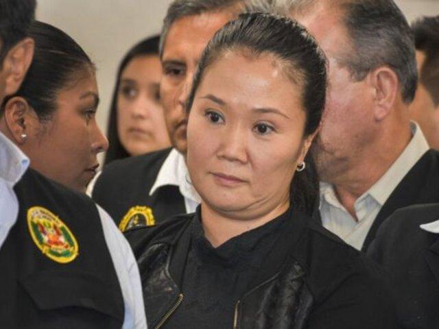 Keiko Fujimori: Verán apelación de prisión preventiva este 15 de diciembre