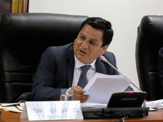 "César Vásquez: votos por lista de Salaverry no van a ""partir"" ninguna bancada"