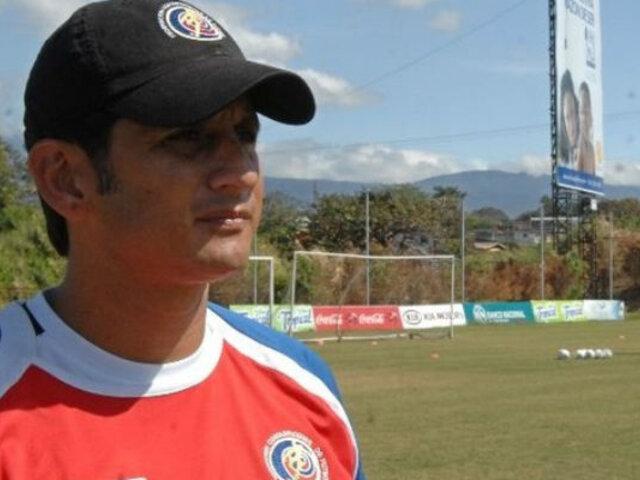 """Ronald González, técnico de Costa Rica: """"Perú es de las mejores selecciones de Sudamérica"""""""
