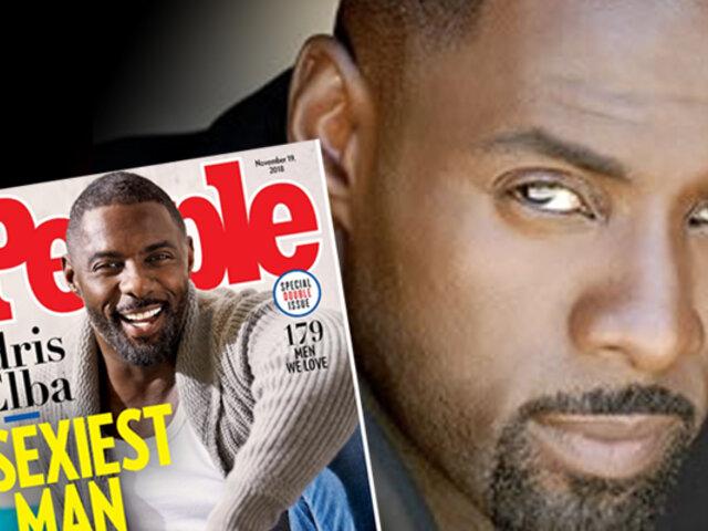 Según la revista People, el actor Idris Elba es el hombre más sexy del planeta
