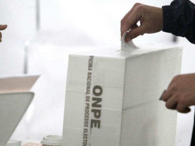 Ipsos: 75% de peruanos aprueba adelanto de elecciones al 2020