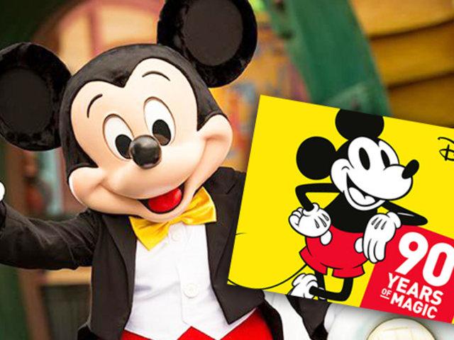 Mickey Mouse, el ratón más querido del mundo celebra sus 90 años