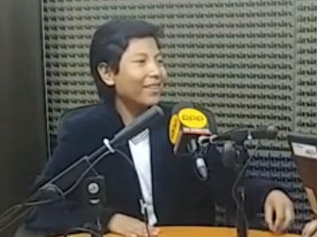 Niño que creó su propio banco es finalista en premio internacional