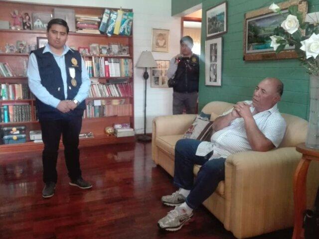 Tacna: alcalde provincial y candidato a gobernador fueron detenidos en megaoperativo