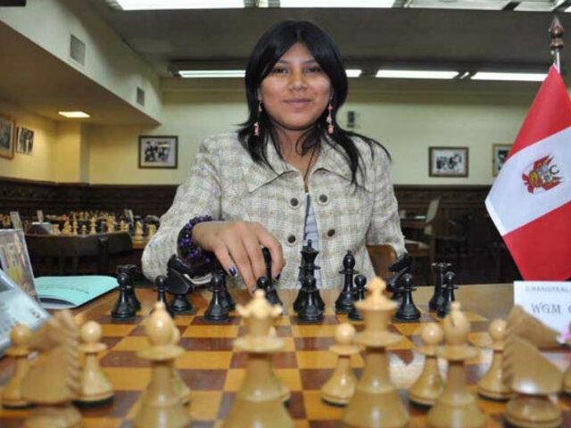 Deysi Cori se llevó el tetracampeonato continental de ajedrez