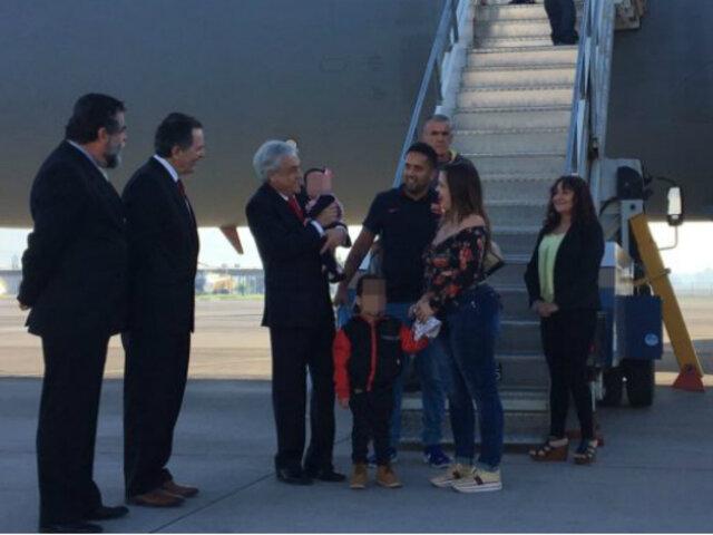 Cerca de 100 chilenos retornaron a su país desde Venezuela