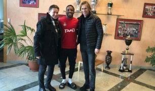 Ricardo Gareca visitó a Jefferson Farfán y Christian Cueva en Rusia