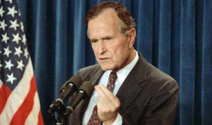 EE.UU: expresidente George H.W. Bush falleció a los 94 años