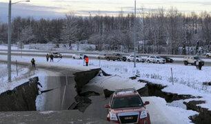 Alaska: sismo de magnitud 7.0 dejó varios heridos