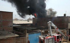 Hermanitas mueren durante incendio de una vivienda en Carabayllo