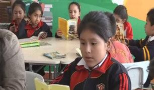 ONG Pan Perú inaugura biblioteca en colegio de Villa María del Triunfo
