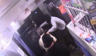 SMP: asaltan por novena vez cabina de internet