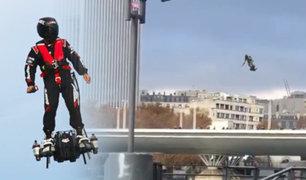 Miltares franceses usarán patinetas voladoras para combatir delincuencia