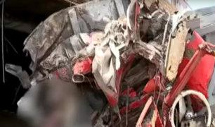 Ventanilla: choque de camión contra vivienda deja un muerto