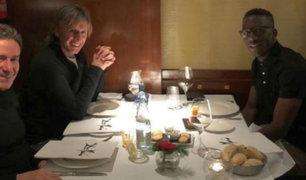 Gareca se reunió con Luis Advíncula en España