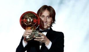 Balón de Oro 2018: Luka Modric rompió racha de 10 años de Messi y CR7