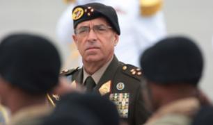 Edwin Donayre: Ministerio de Defensa ordena retirar sus condecoraciones